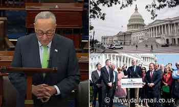 Sleepy Saturday session in Senate: Bipartisan group finalizing $1.2 trillion infrastructure bill