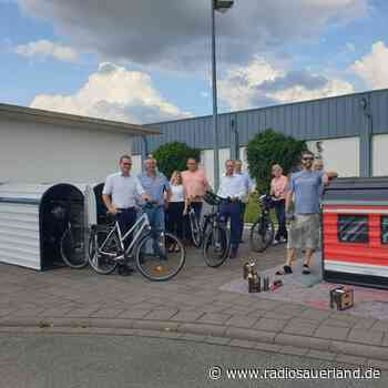 Erstmals Fahrradboxen am Bahnhof Brilon Stadt - Radio Sauerland