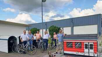 Brilon: Fahrradboxen am Bahnhof eingeweiht - Westfalenpost