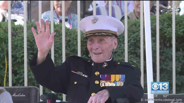 Stockton Community Celebrates Marine's 106th Birthday