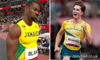 Tokyo Olympics: Second-fastest man in history's stunned reaction to being beaten by Aussie sprinter