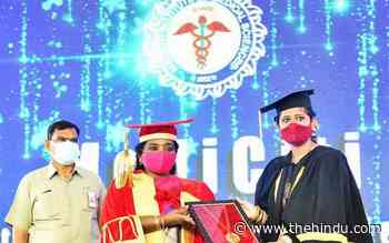 'Quality medical education crucial for health system' - The Hindu