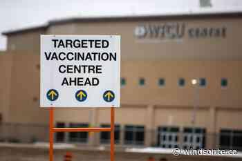WFCU Centre And Moy Medical Center Vaccination Sites Close - windsoriteDOTca News