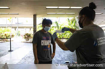 Hawaii counts another 485 coronavirus cases; active infections near 3,000 - Honolulu Star-Advertiser