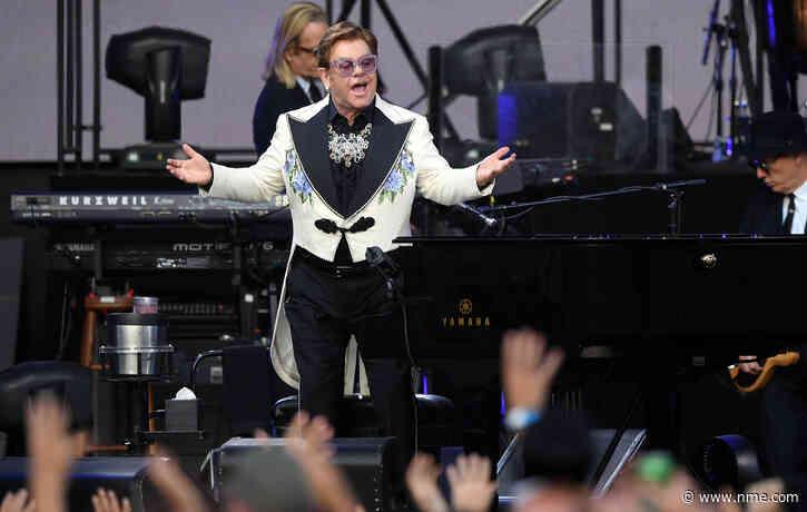 Elton John partially reschedules German leg of farewell tour