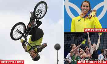 Tokyo Olympics: Logan Martin wins the first gold in the freestyle BMX after more success in the pool