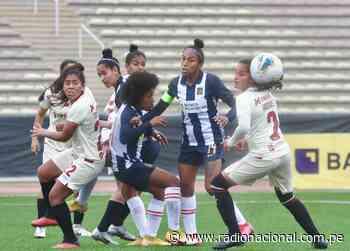 Alianza Lima y Universitario empataron sin goles en el clásico femenino - Radio Nacional del Perú