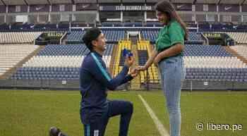 Alianza Lima: hincha blanquiazul pide matrimonio a su novia en el estadio de Matute - Libero.pe