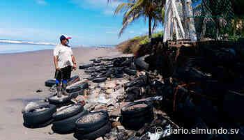 Marea avanza 10 metros en playa Icacal, Intipucá - Diario El Mundo