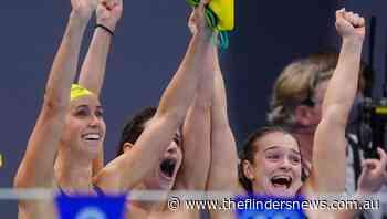 Aussie swim team hit new Olympic high - The Flinders News