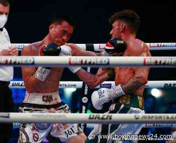 """Wood wins WBA World Feather Title Stopping Can """"Monster"""" Xu!"""