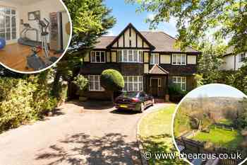 Inside five bed house on one of Brighton's most expensive streets