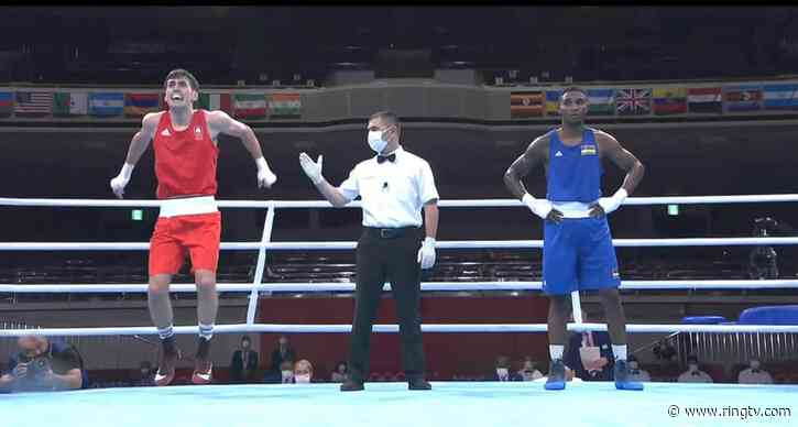 Irish boxer Aidan Walsh withdraws from Olympics after injuring ankle celebrating win