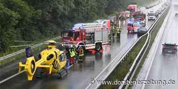 Unfälle auf der A 31 - 16 Menschen wurden verletzt | Dorsten - Dorstener Zeitung