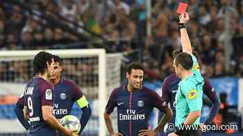 How many red cards has Neymar got in his career?