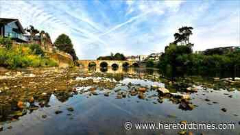 When the river Wye ran dry in heatwave