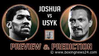 VIDEO: Joshua vs Usyk – Preview & Prediction