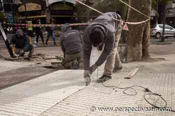 Avanzan en Quilmes las obras de refacción en las escuelas de la plaza San Martín - Perspectiva Sur
