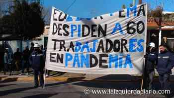 Los trabajadores despedidos de EMA llevaron su reclamo a la municipalidad - La Izquierda Diario