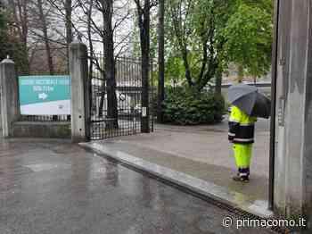 Emergenza maltempo, hub vaccinale di Villa Erba chiuso da stasera. Il Breggia in piena - Prima Como