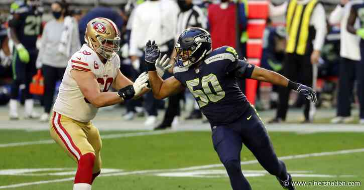 Golden Nuggets: Mike McGlinchey is 25 pounds heavier since last season