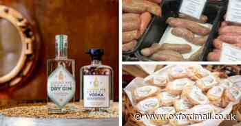Unusual food and drink from Oxfordshire