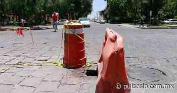 Descuidan autoridades Calzada de Guadalupe - Pulso Diario de San Luis