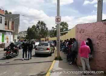 Se vacunan miles de jóvenes en módulos de Guadalupe - Express Zacatecas