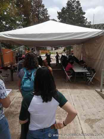 Este domingo continuará la vacunación en Fresnillo, Zacatecas y Guadalupe - Express Zacatecas
