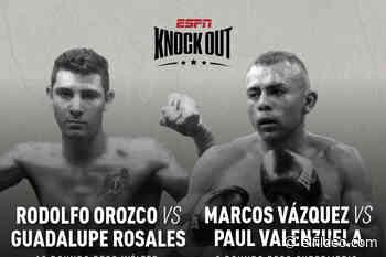 EN VIVO Y GRATIS BOX: RODOLFO OROZCO VS GUADALUPE ROSALES, LIVE STREAM, VER PELEA EN PERÚ Y MÉXICO, HOY 30 DE - El Fildeo