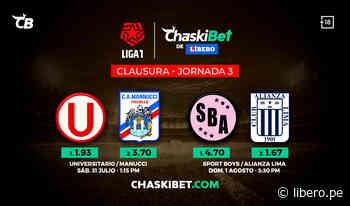 Apuestas ChaskiBet: Universitario buscará llevarse la victoria frente a Manucci - Libero.pe