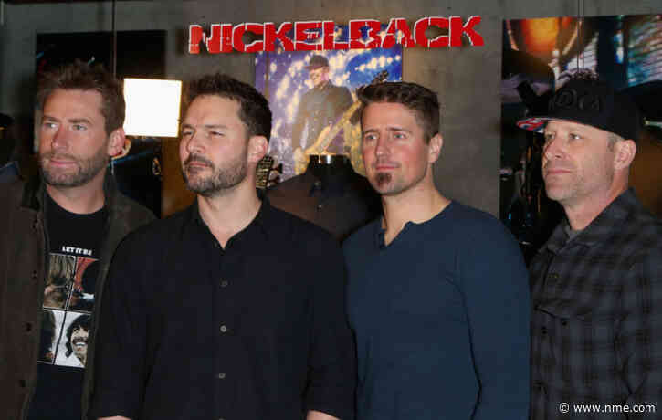Nickelback reveal that they're working on a new album