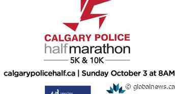 41st Annual Calgary Police Half Marathon, supported by Global Calgary