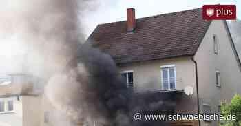 Tuttlingen: Feuer in der Uhlandstraße - Ursache ein Rätsel - Schwäbische