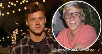 Love Island's Brad McClelland unrecognisable in throwback snap