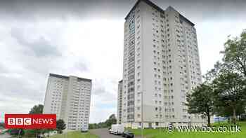 Residents evacuated after Glasgow tower block fire