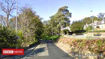 Three men in hospital after crashed car catches fire near Peterculter