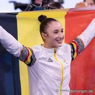 Nina Derwael na Olympisch goud: 'Het afgelopen jaar was enorm zwaar'
