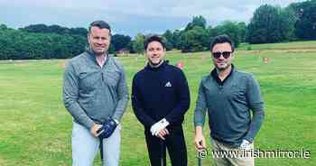 Fans go wild as Niall Horan, Shane Filan, Rob Kearney and Shay Given gush about 'great' day together - Irish Mirror
