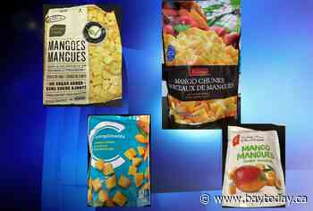 CANADA: Canadian Food Inspection Agency issues recall for several frozen mango brands