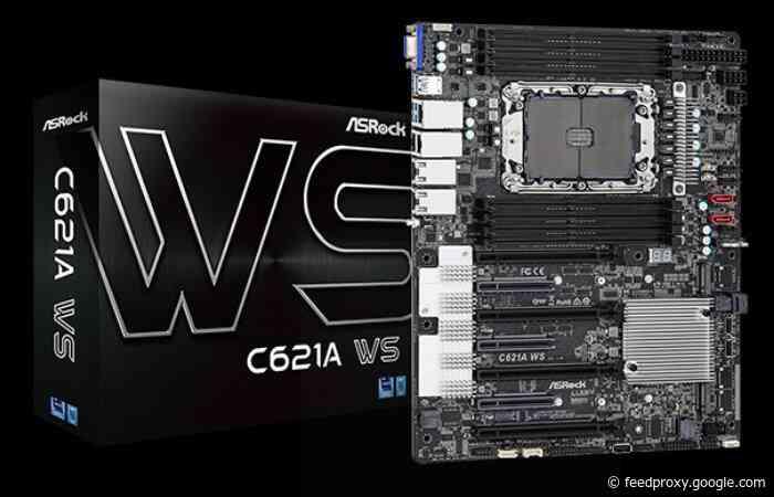 ASRock Intel C621A powered workstation motherboards