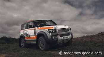 Land Rover Defender prepped for racing by Bowler