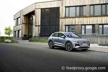 New Audi Q4 e-tron models unveiled