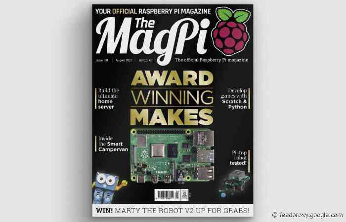 Raspberry Pi MagPi magazine issue 108 now available