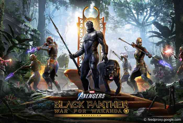 Marvel's Avengers Black Panther expansion rolls out August 17th