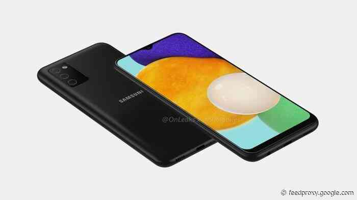Samsung Galaxy A03s spotted on Samsung's website