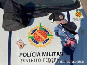 Presa dupla que fazia arrastão em Santa Maria - Jornal de Brasília