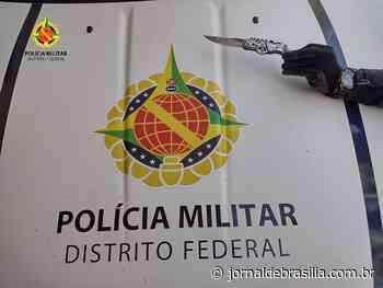 PMDF prende homem que tentou cometer homicídio em Santa Maria - Jornal de Brasília