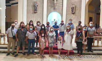 La misa en honor a San Joaquín y Santa Ana se convierte en el único acto presencial de las fiestas del barrio barbastrense - Ronda Somontano