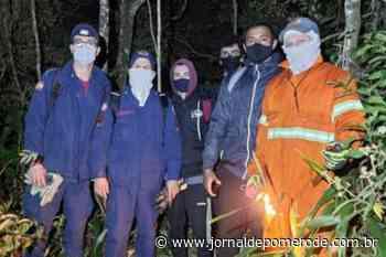 Após se perder em trilha, trio é localizado na madrugada gelada desta sexta em SC - Jornal de Pomerode